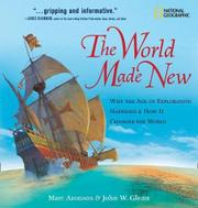 Cover art for THE WORLD MADE NEW