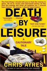 Cover art for DEATH BY LEISURE