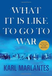 Book Cover for WHAT IT IS LIKE TO GO TO WAR