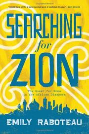 SEARCHING FOR ZION by Emily Raboteau