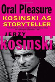 ORAL PLEASURE by Jerzy Kosinski