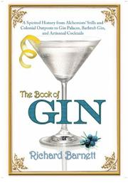 Cover art for THE BOOK OF GIN