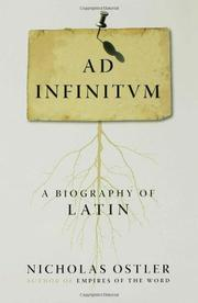 AD INFINITUM by Nicholas Ostler