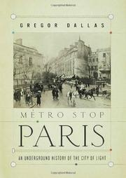 MÉTRO STOP PARIS by Gregor Dallas