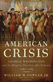 Cover art for AMERICAN CRISIS