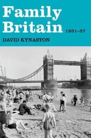 FAMILY BRITAIN by David Kynaston