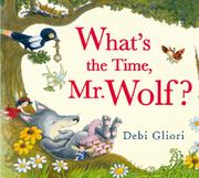 Cover art for WHAT'S THE TIME, MR. WOLF?