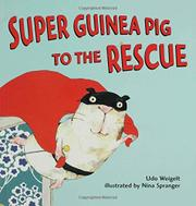 Cover art for SUPER GUINEA PIG TO THE RESCUE