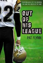 Cover art for OUT OF HIS LEAGUE