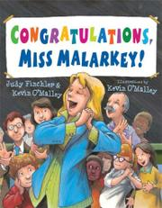Book Cover for CONGRATULATIONS, MISS MALARKEY!