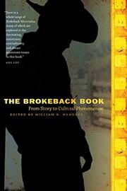 THE BROKEBACK BOOK by William R. Handley