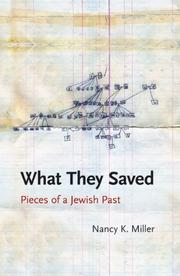 Book Cover for WHAT THEY SAVED