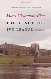 Cover art for THIS IS NOT THE IVY LEAGUE
