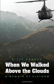 Book Cover for WHEN WE WALKED ABOVE THE CLOUDS