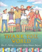 THANK YOU, WORLD by Alice B. McGinty