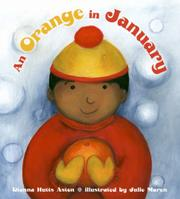 Book Cover for AN ORANGE IN JANUARY