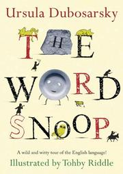Cover art for THE WORD SNOOP