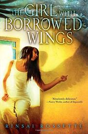 Book Cover for THE GIRL WITH BORROWED WINGS