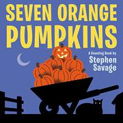 SEVEN ORANGE PUMPKINS by Stephen  Savage