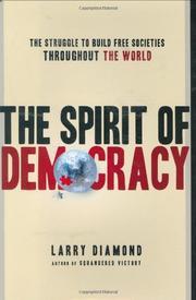 THE SPIRIT OF DEMOCRACY by Larry Diamond