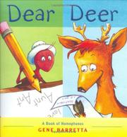 Cover art for DEAR DEER