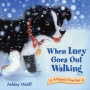 Book Cover for WHEN LUCY GOES OUT WALKING