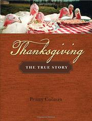 THANKSGIVING by Penny Colman