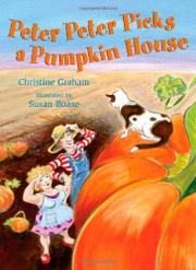 Cover art for PETER PETER PICKS A PUMPKIN HOUSE