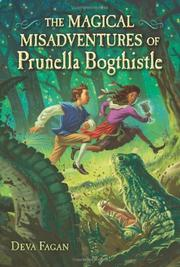 Cover art for THE MAGICAL MISADVENTURES OF PRUNELLA BOGTHISTLE