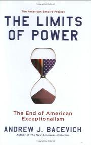 Cover art for THE LIMITS OF POWER