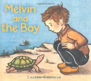 Cover art for MELVIN AND THE BOY
