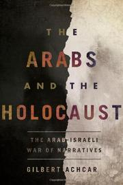 Cover art for THE ARABS AND THE HOLOCAUST