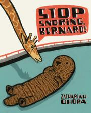 Cover art for STOP SNORING, BERNARD!