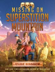 Book Cover for MISSING ON SUPERSTITION MOUNTAIN