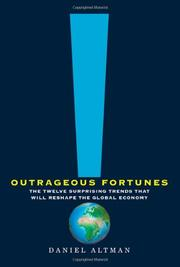 Cover art for OUTRAGEOUS FORTUNES