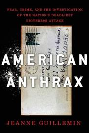 Book Cover for AMERICAN ANTHRAX