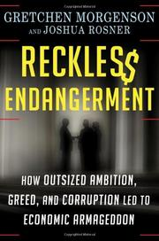 Cover art for RECKLESS ENDANGERMENT