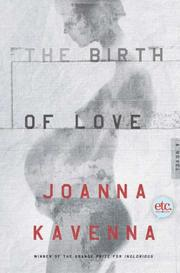 Book Cover for THE BIRTH OF LOVE