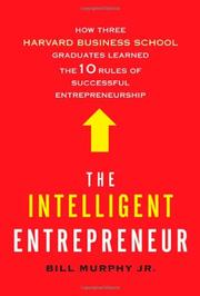Cover art for THE INTELLIGENT ENTREPRENEUR