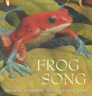 FROG SONG by Brenda Z. Guiberson