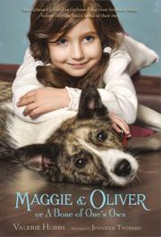 Book Cover for MAGGIE & OLIVER