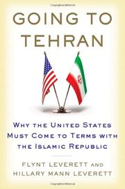 Book Cover for GOING TO TEHRAN