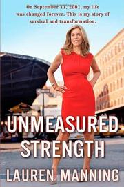 Cover art for UNMEASURED STRENGTH
