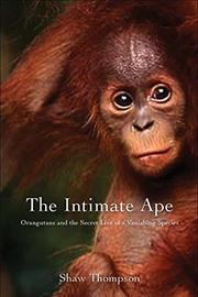 Cover art for THE INTIMATE APE