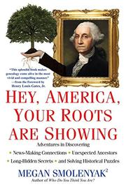 Book Cover for HEY, AMERICA, YOUR ROOTS ARE SHOWING