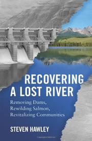 Cover art for RECOVERING A LOST RIVER