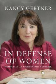 Cover art for IN DEFENSE OF WOMEN