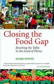 Book Cover for CLOSING THE FOOD GAP
