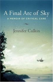 A FINAL ARC OF SKY by Jennifer Culkin