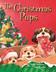 Book Cover for THE CHRISTMAS PUPS